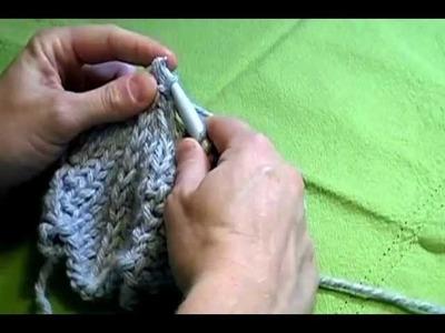 Knit Chevron Decrease (Double Decrease)