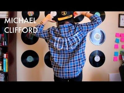 Last Minute Costume: Michael Clifford (5SOS) & DIY Idiot Flannel