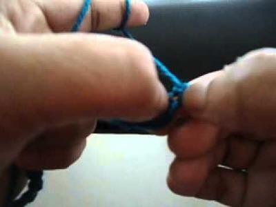 Learn to crochet in tamil - Single Crochet