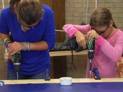 Lowe's Family Fun Projects - Tween DIY!