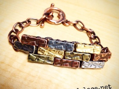 Make a Brick Wall Bracelet with The Bead Place