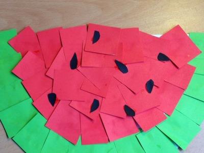 Make a Fun Kids Paper Watermelon - DIY Crafts - Guidecentral