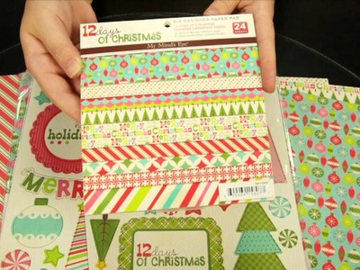 My Mind's Eye - 12 Days of Christmas Scrapbook Collection