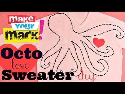 Octo-Love Sweater DIY
