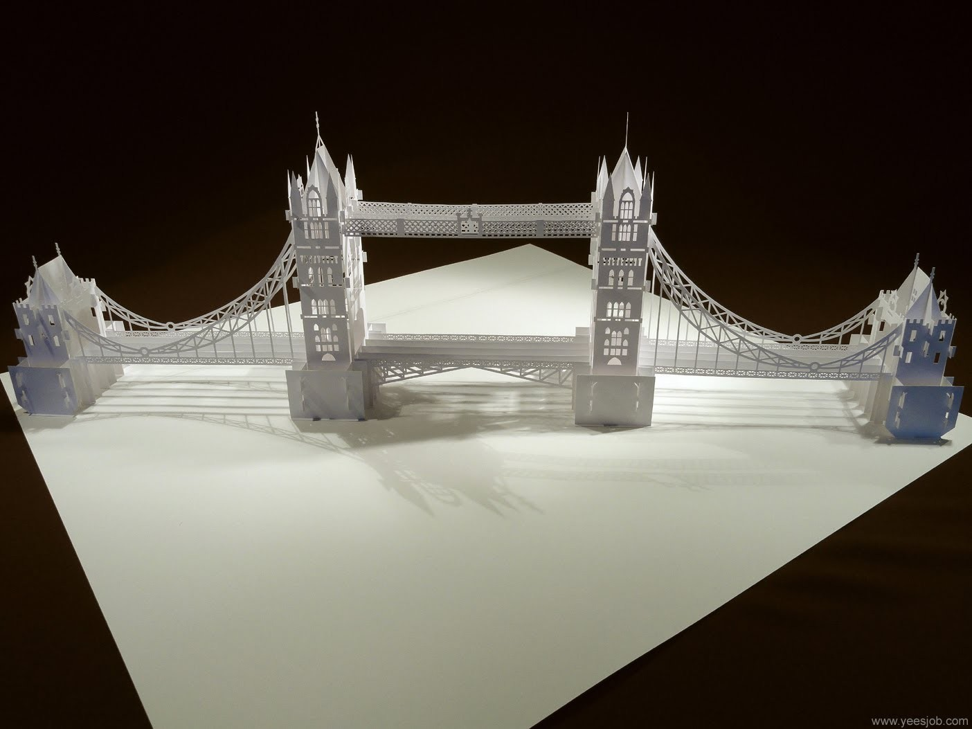 Origami Architecture Papercraft Models Of The Worlds Most