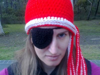 Pirate Hat Crochet Tutorial
