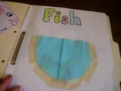 Preschool - Science, Social studies, Animal theme: Fish folder with projects and crafts activities.