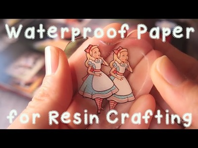 Resin Craft Guide: Waterproof Paper for Resin Crafting?!