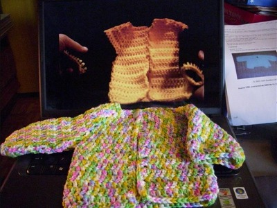 Response to Crochet Simple Baby Sweater Tutorial