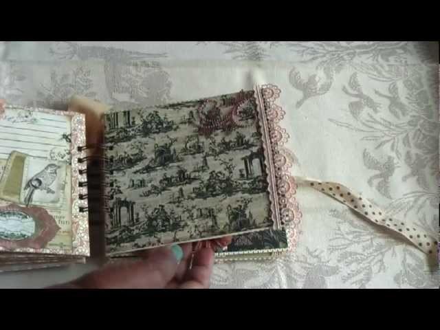 Scrapbook:Vintage paperbag mini complete