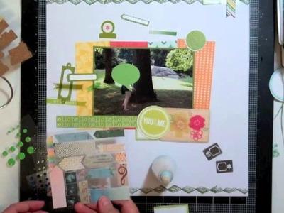 Scrapbooking Process 89: Spencer's Studio Calico Kit
