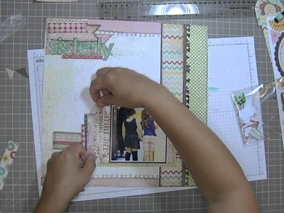 Scrapbooking Process: Sisterly Encouragement