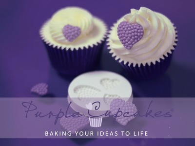 Sugarcraft Moulds to make cupcake decorations and cake toppers by Purple Cupcakes