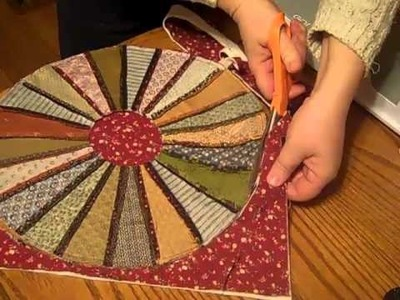 Accuquilt Go! Candle Mat from Dresden Plate