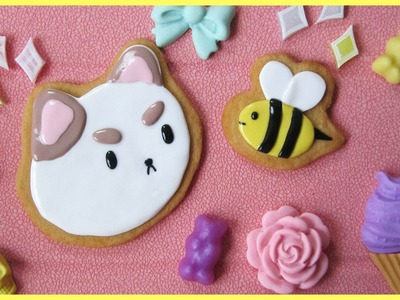 Bee and PuppyCat Cabochons [polymer clay] || Watch Me Craft