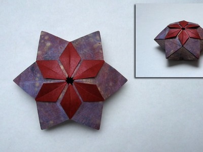 Christmas Origami Instructions: Pelleas Box (Peter Keller)