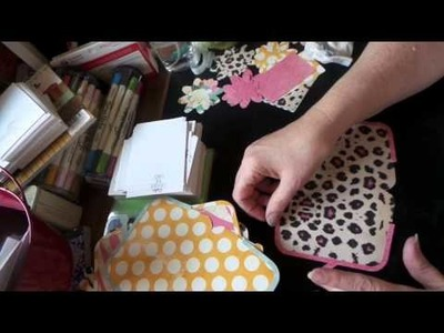 Craft Sale Ideas: How to Make Paper,  Vintage Style Coin Purses