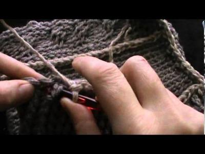 Crochet hooded neck warmer part two