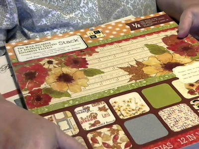 DESTASH - Scrapbook Paper Pads 5 pads for $30 shipped - Video #1 of 2  Please see description below