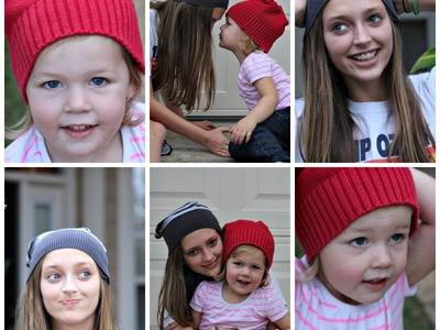 DIY: Beanie Upcycled from Sweater