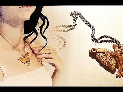 ► DIY: Clockwork Angel Necklace Tutorial [The Infernal Devices]