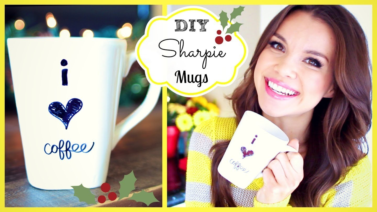 DIY Coffee Mugs ❄ #DIYDecember Day 9