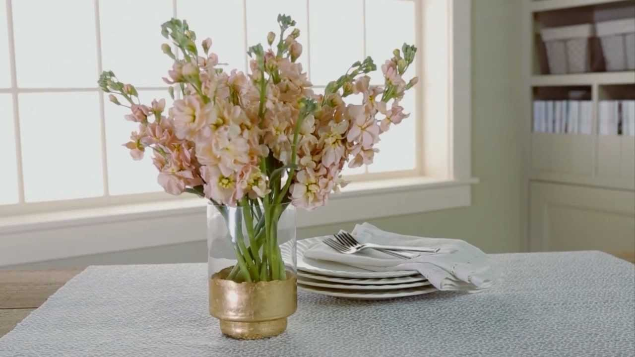 DIY Home Décor - How to Gold Leaf
