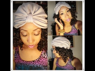 DIY | How to sew an EASY Turban Hat!