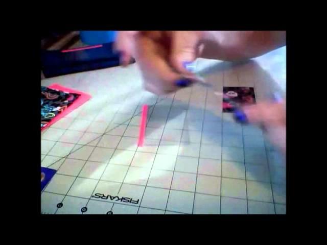 (DIY) Mini Accordion Women's Wallet Tutorial