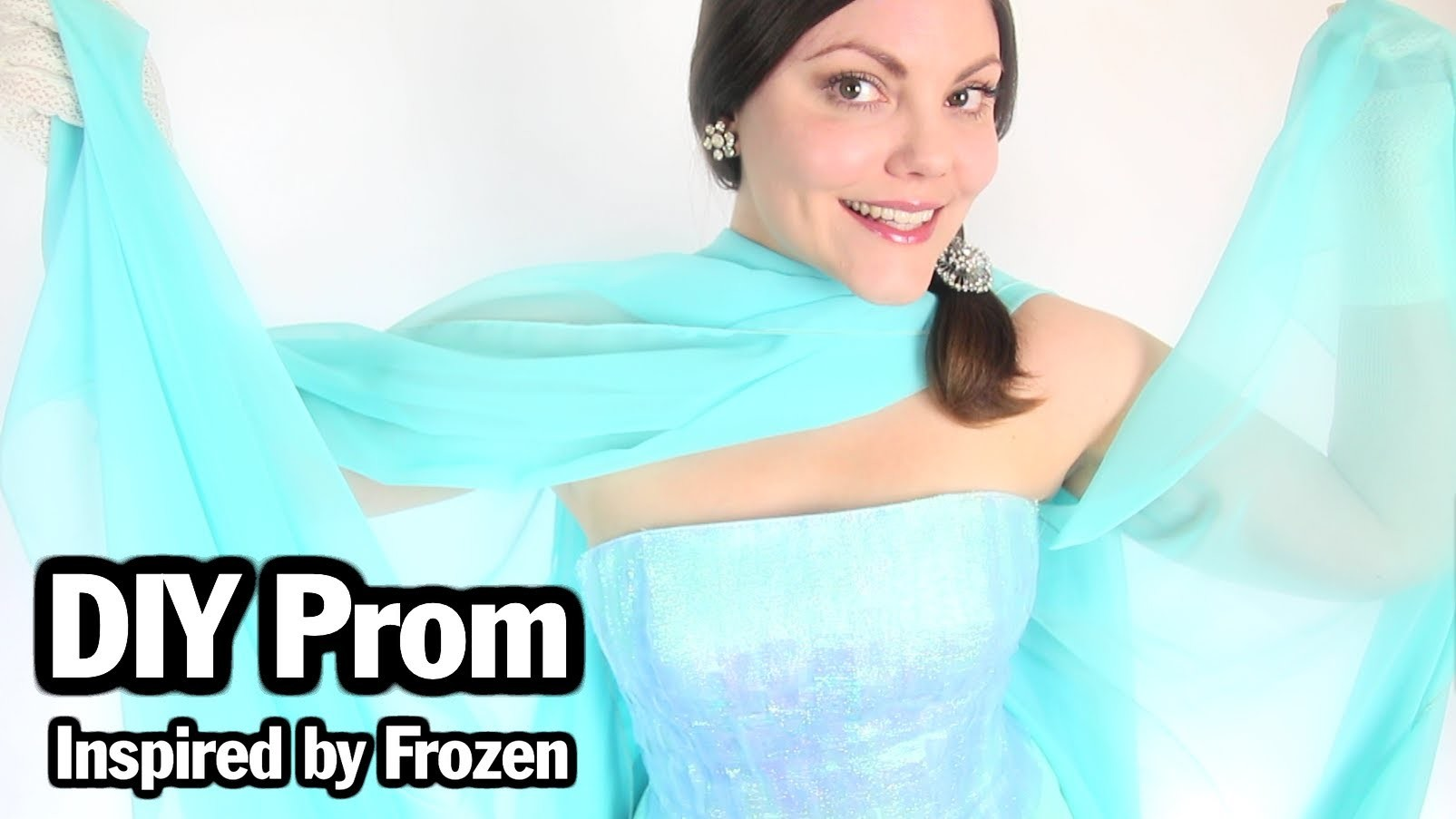 DIY Queen Elsa, Frozen Inspired Dress