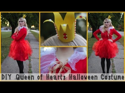 DIY Queen of Hearts Halloween Costume