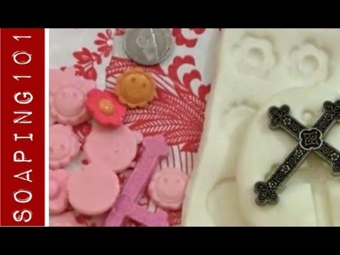 DIY Silicone Mold {for soap + candle embeds}
