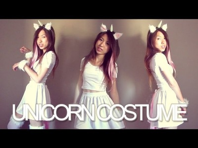 DIY: Unicorn Halloween Costume