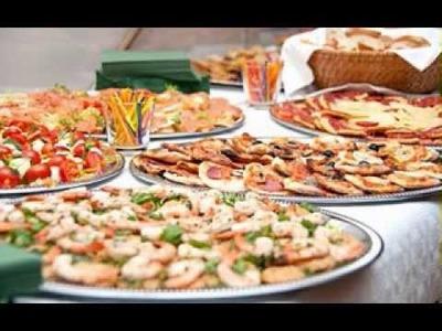 DIY wedding party finger food decorating ideas