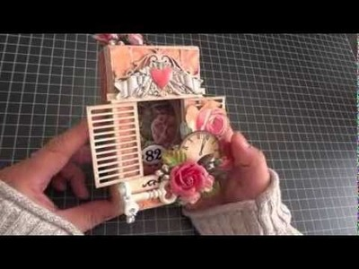 DPC DT Project: Altered Shadow Box Ornament Tutorial