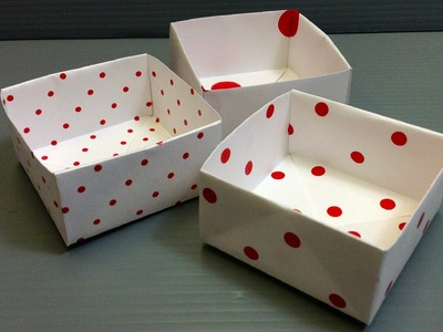Free Origami Paper - Print Your Own! - Polka Dots on White