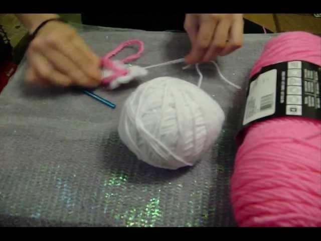 How to Crochet a Sakura Flower