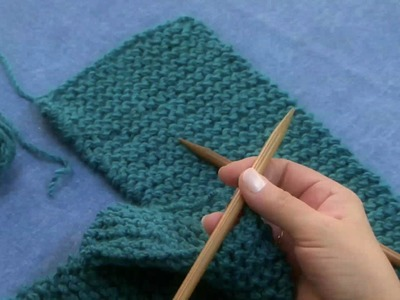 How To Knit Part 3 of 3 HD Quality LEFT HAND VERSION