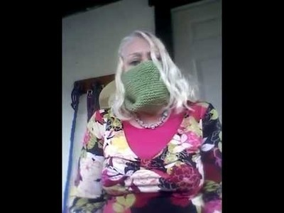 How to make a knit and crochet mask