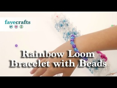 How To Make A Rainbow Loom Bracelet With Beads