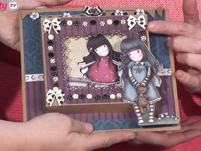 How To Make A Recessed Window Card | docrafts Creativity TV