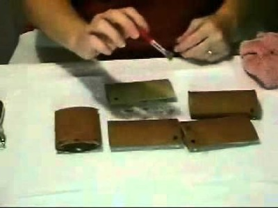 How to Make a Scrapbook from Toilet Paper Tubes: Part 1