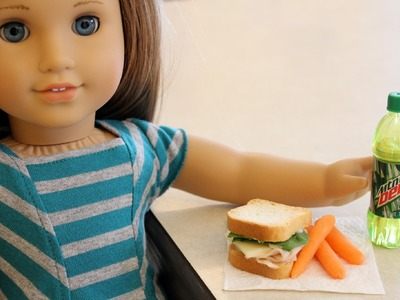 How to Make Edible Doll Food - Doll Crafts