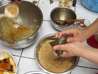 How to make rice dumpling(2009 )