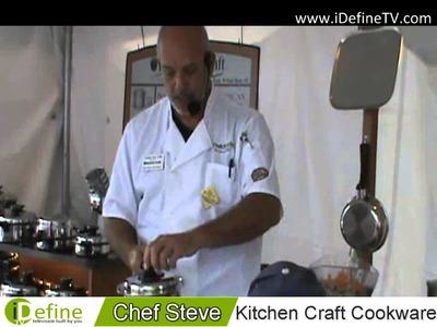 IDefine TV Atlanta Spotlight   Chef Steve Dukes of Kitchen Craft Cookware
