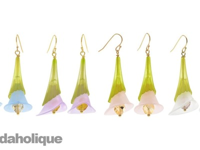 Instructions for Making the Lucite Lily Earring Kit