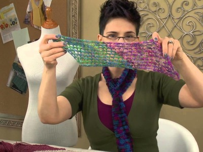 Knit Stitch Pattern Tutorial -- Experiment With Yarn Weights & Needle Sizes