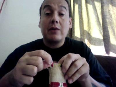 Lakota Beadwork, Tobacco Bag project part 2, Finishing an edge