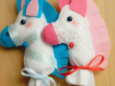 Make a Cute Felt Stick Horse - DIY Crafts - Guidecentral
