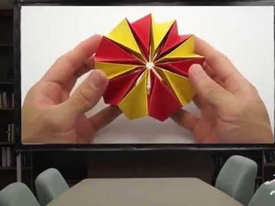 Origami Paper - How To Make an Origami Paper Fireworks